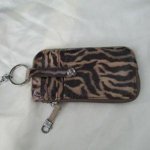Brighton credit card wallet leopard